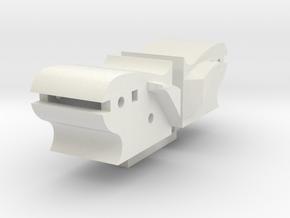 NS 3900 cilinders kaal zand trapezium in White Natural Versatile Plastic
