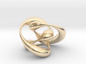 Knot 01 in 14K Yellow Gold