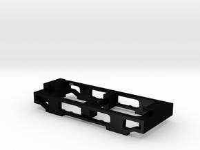 MILW boxcab truck frame in Matte Black Steel