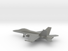 Boeing F/A-18F Super Hornet in Gray PA12: 1:200