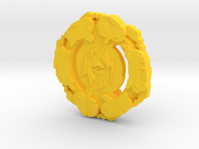 Pikachu Poke'bey in Yellow Processed Versatile Plastic