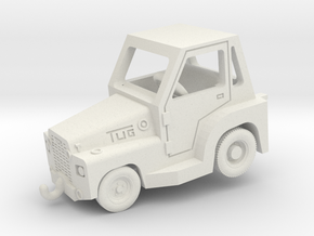 TUG MR Aircraft Tow Tractor  in White Natural Versatile Plastic: 1:200