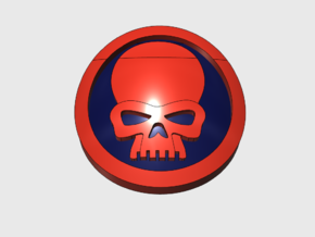 60x Circle Squad: Command Skull in Smooth Fine Detail Plastic