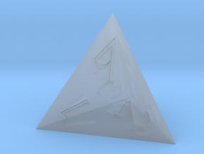 D4 Sharp Edge - Fantasy Elf Font in Smoothest Fine Detail Plastic
