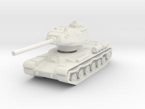IS-1 Tank 1/144 in White Natural Versatile Plastic