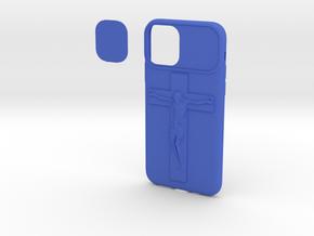 IPhone 11 Pro Max Jesus Christ Cover Light in Blue Processed Versatile Plastic