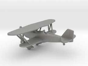 Curtiss P-6 Hawk in Gray PA12: 1:144