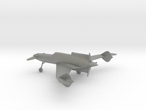 Curtiss-Wright XP-55 Ascender in Gray PA12: 1:144