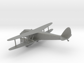 de Havilland DH.89 Dragon Rapide in Gray PA12: 1:144