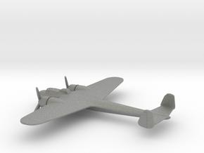 Dornier Do 17P (w/o landing gears) in Gray PA12: 1:200