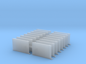 Wall Radiator Heater (x16) 1/100 in Smooth Fine Detail Plastic