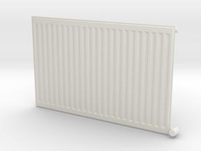 Wall Radiator Heater 1/12 in White Natural Versatile Plastic