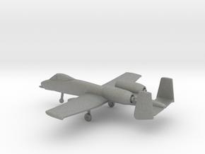 Fairchild Republic A-10 Thunderbolt II in Gray PA12: 1:200