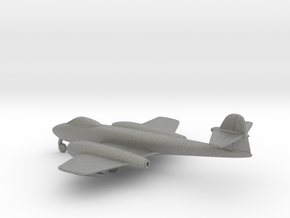 Gloster Meteor F8 in Gray PA12: 1:200