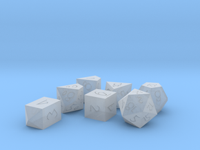 Polyset Vertical with D4C - Fantasy Elf Font in Smoothest Fine Detail Plastic
