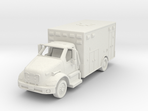 Freightliner Ambulance 01. 1:87 Scale in White Natural Versatile Plastic