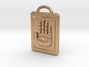 JoJo Hand Emblem in Natural Bronze