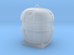 1/43 collecteur verre / glass container in Smooth Fine Detail Plastic