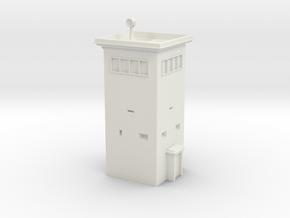 B-Turm 4x4 Watchtower 1/76 in White Natural Versatile Plastic