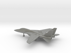 Grumman F-14 Tomcat in Gray PA12: 6mm