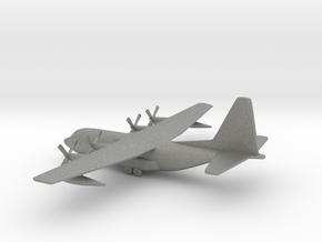 Lockheed C-130 Hercules in Gray PA12: 1:400