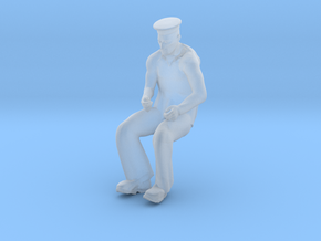 Printle M Homme 090 - 1/50 - wob in Smooth Fine Detail Plastic