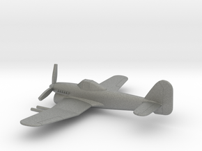 Hawker Typhoon (w/o landing gears) in Gray PA12: 1:160 - N