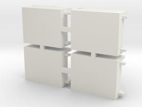 Early Atlas GP38/40 Speaker Kit Fret in White Natural Versatile Plastic