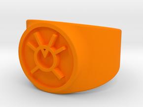 GL - Orange Lantern (Greed) Comic Style in Orange Processed Versatile Plastic: 10 / 61.5