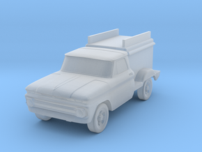Ice Cream Truck - Zscale in Smooth Fine Detail Plastic