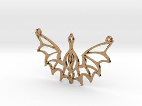 :Steampunk Flight: Pendant in Polished Brass