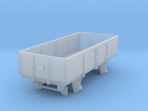 VR N Scale RY Wagon in Smooth Fine Detail Plastic