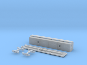 VR N Scale FP/VSPY Horse Box in Smooth Fine Detail Plastic