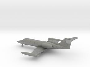 Learjet 35A in Gray PA12: 1:200