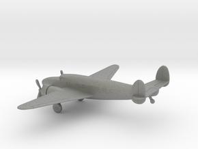 Lockheed Model 18 Lodestar in Gray PA12: 1:200