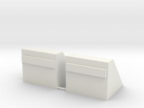 Betonnen stootblok     N - spoor in White Natural Versatile Plastic