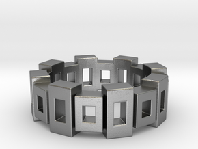 Cubic Sequence in Natural Silver: 5.5 / 50.25