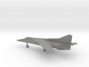 MiG-23BN Flogger-H in Gray PA12: 1:200