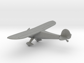Monocoupe 90 Airplane in Gray PA12: 1:100