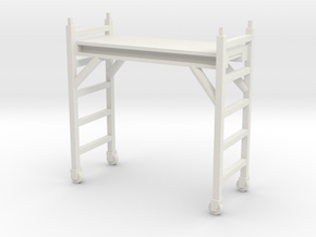 Scaffolding Unit 1/48 in White Natural Versatile Plastic