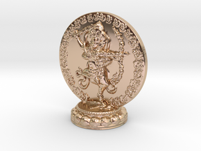 Kurukulle Miniature Statue in 14k Rose Gold