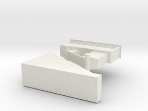 Duquesne Incline Fidget Toy in White Natural Versatile Plastic