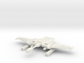 2500 Romulan T-10 Bright One class in White Natural Versatile Plastic