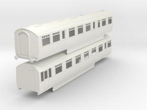 b-32-lner-coronation-twin-rest-open-3rd in White Natural Versatile Plastic