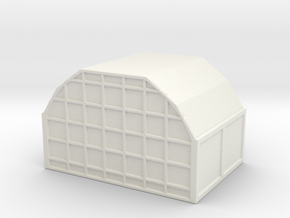 AAA Air Cargo Container 1/100 in White Natural Versatile Plastic