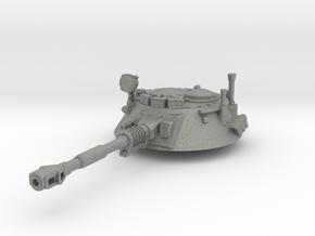 28mm Amphibious tank turret in Gray PA12