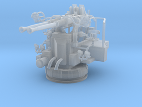 1/72 USN 40mm Bofors Twin Mount in Smoothest Fine Detail Plastic