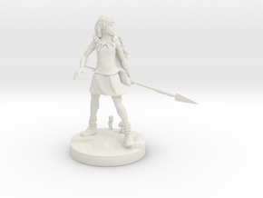 Mononoke in White Natural Versatile Plastic: Small