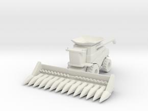 J.D. T Combine Harvester 1/160 in White Natural Versatile Plastic