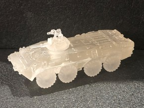 BTR-70 Afghanistan (grenade launcher) 1/144 in Smooth Fine Detail Plastic